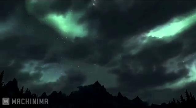 The Elder Scrolls V: Skyrim world in motion (Video)