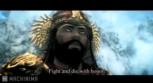 Skyrim: Battle of The Samurai
