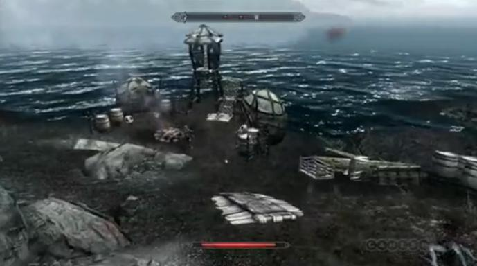 The Elder Scrolls V: Skyrim Dragonborn DLC gameplay video