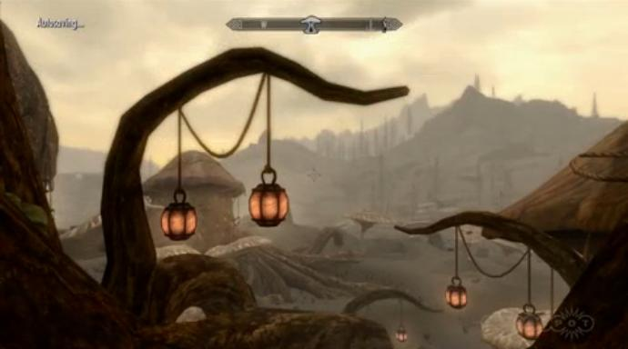 The Elder Scrolls V: Skyrim Dragonborn DLC gameplay video 2