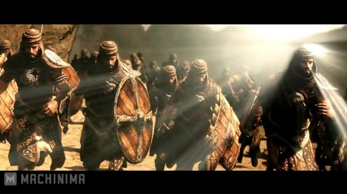 TES Skyrim: 300 Battle of Thermopylae (Video)