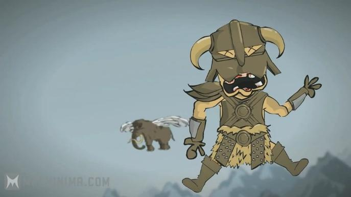 About Skyrim (Animation cartoon)