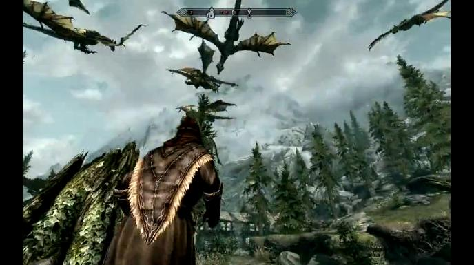 "The Elder Scrolls 5: Skyrim ""Invasion of the Dragon"" (Video)"