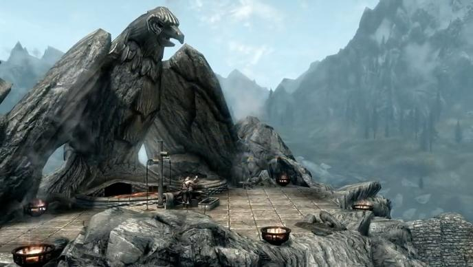 "TES 5 Skyrim ""Concept-art"" (Video)"