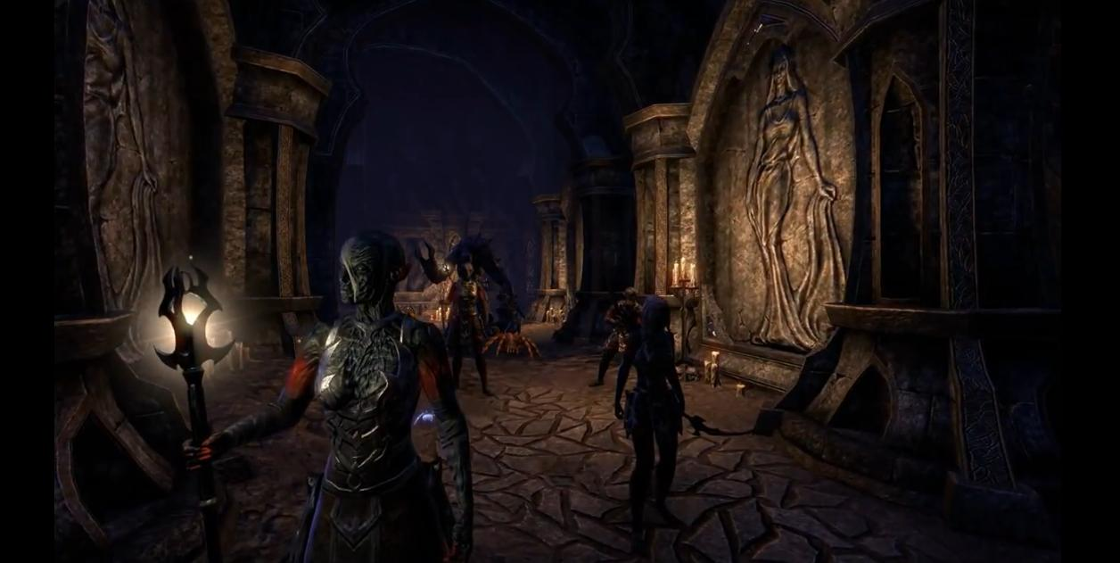 The Elder Scrolls Online - Developer Play Session: Veteran Crypt of Hearts