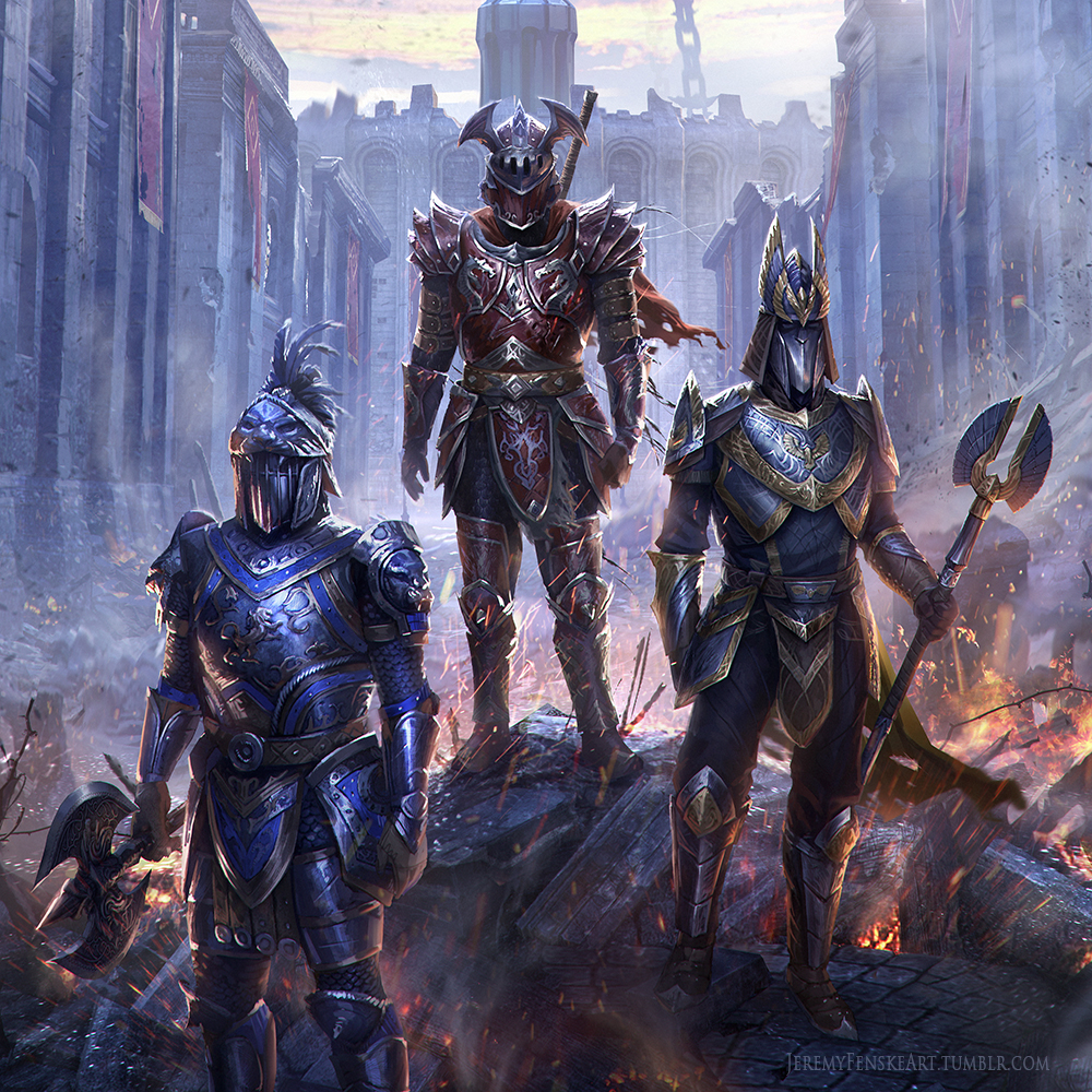 TES Online - Concept Art of the Imperial City by Jeremy ... Elder Scrolls Online Redguard Names