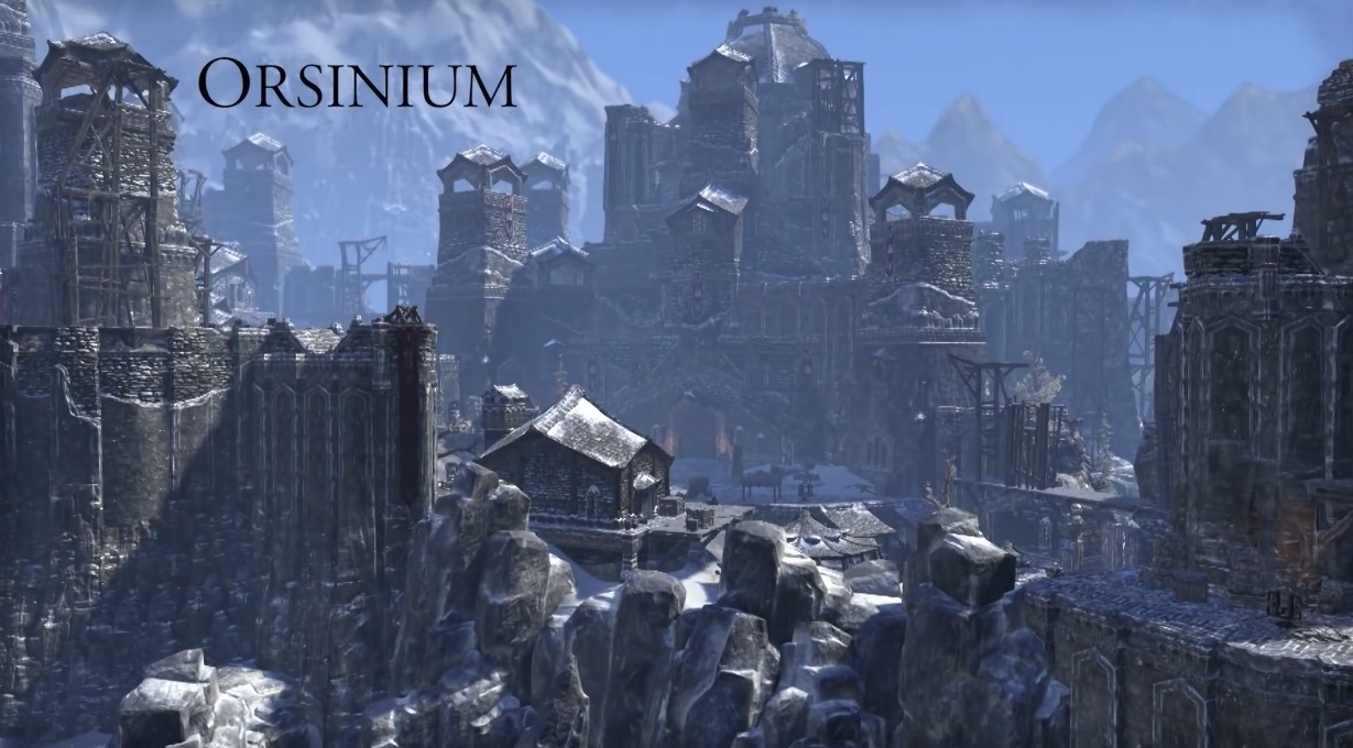 Creating Elder Scrolls Online: Orsinium video