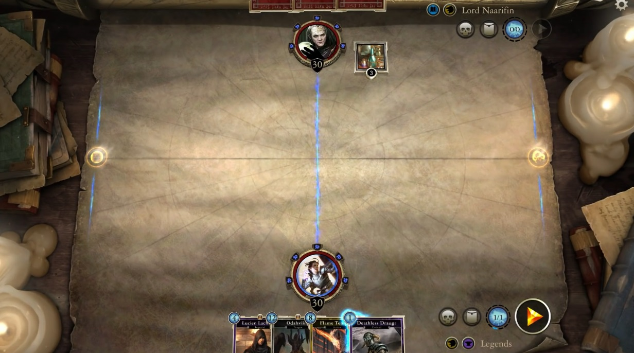 The Elder Scrolls: Legends - Gameplay video